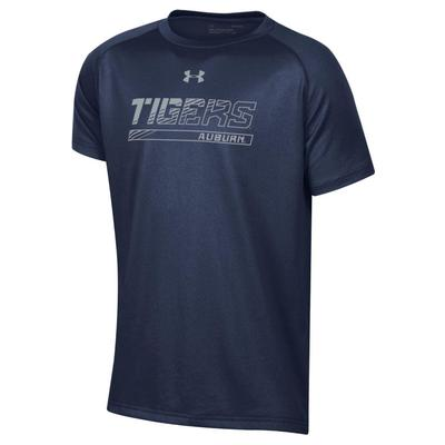 Auburn Under Armour Youth Boys Tech Tee