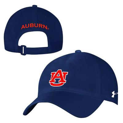 Auburn Under Armour Sideline Airvent Adjustable Hat