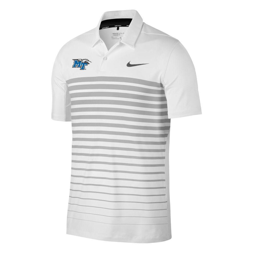 Mtsu Nike Golf Mobility Print Polo