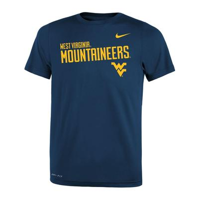West Virginia Nike Youth Legends DriFit Tee