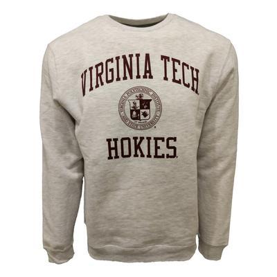 Virginia Tech Arch College Seal Crewneck Sweatshirt