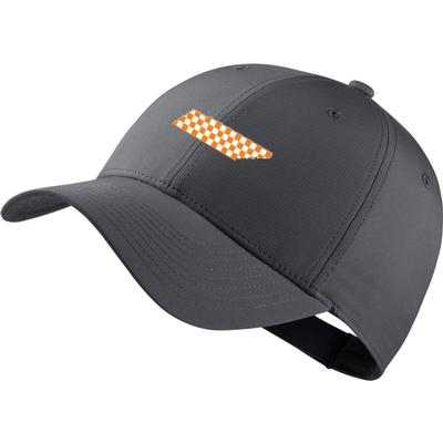 Tennessee Nike Golf Legacy Adjustable Checkerboard State Tech Cap