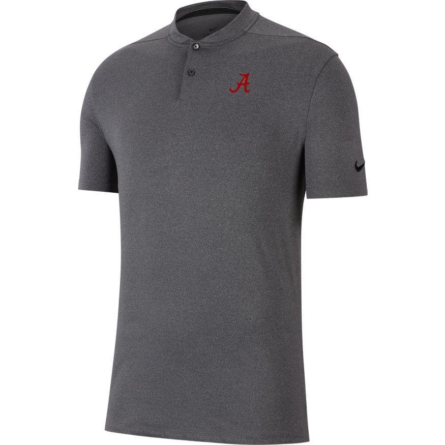 Alabama Nike Golf Vapor Blade Collar Polo