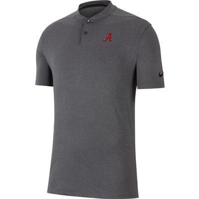 Alabama Nike Golf Vapor Blade Collar Polo BLACK