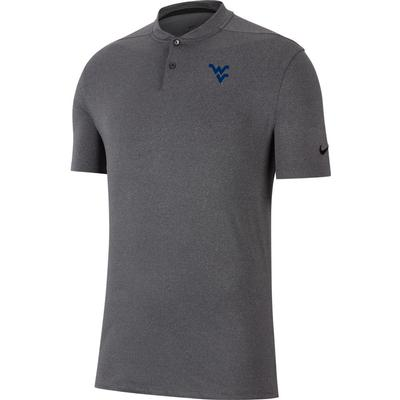 West Virginia Nike Golf Vapor Blade Collar Polo