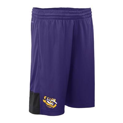 LSU Nike Youth DriFit Shorts