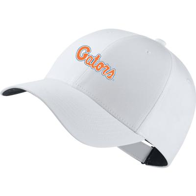 Florida Nike Golf Script Gators Legacy Adjustable Tech Cap