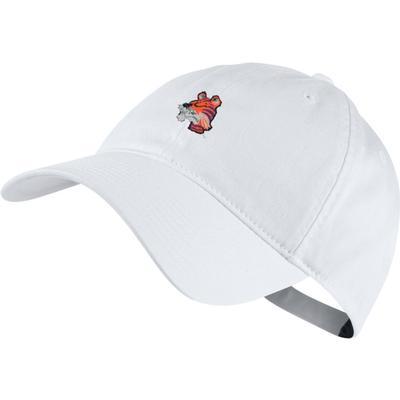Clemson Nike Golf Vault H86 Washed Adj Hat WHITE