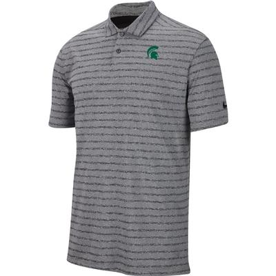 Michigan State Nike Golf Logo Vapor Stripe Polo