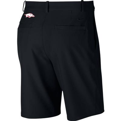 Arkansas Nike Golf Flex Hybrid Shorts BLACK