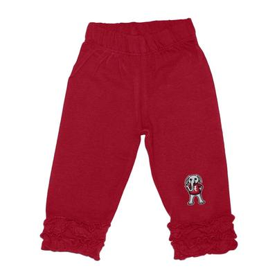 Alabama Infant Ruffle Leggings