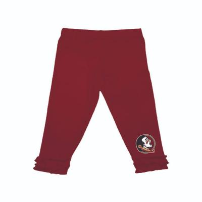 Florida State Infant Ruffle Leggings