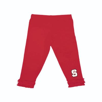NC State Infant Ruffle Leggings