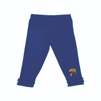 Kentucky Infant Ruffle Leggings