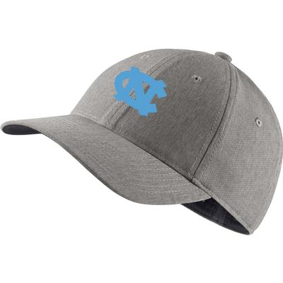 UNC Nike Golf L91 Custom Flex Fit Cap HEATHER_GRAY