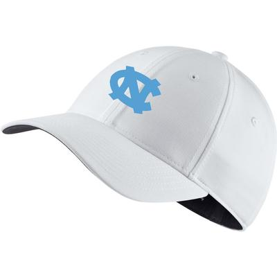 UNC Nike Golf L91 Custom Flex Fit Cap WHITE