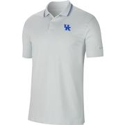 Kentucky Nike Golf Vapor Control Striped Polo