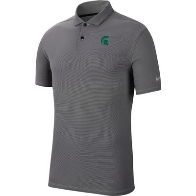 Michigan State Nike Golf Logo Texture Victory Polo