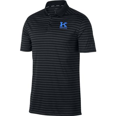 Kentucky Nike Golf Vault K Victory Stripe Polo