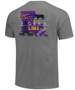 Lsu Campus Icon Comfort Colors T- Shirt