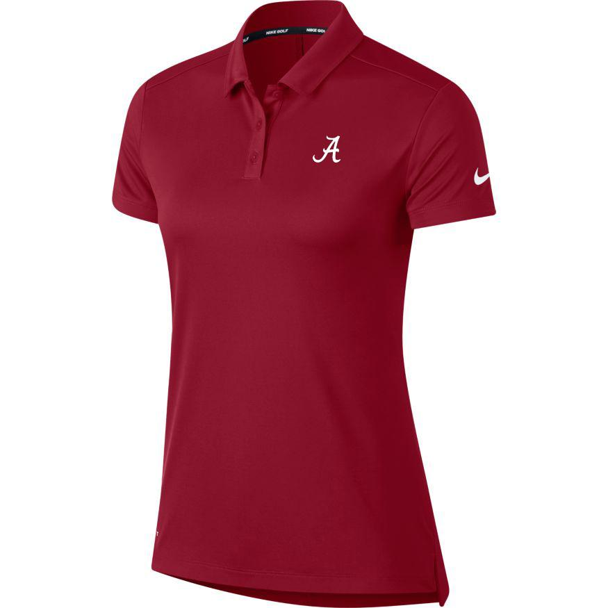 Alabama Nike Golf Women's Dry Short Sleeve Polo