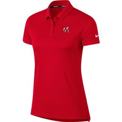 Georgia Nike Golf Women's Dry Short Sleeve Polo