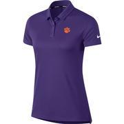Clemson Nike Golf Women's Dry Short Sleeve Polo