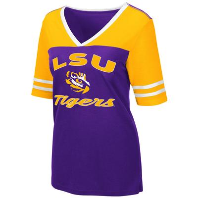 LSU Women's Colosseum Samantha Athletic Fit Tee