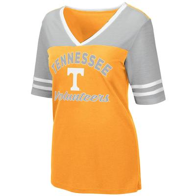 Tennessee Women's Colosseum Samantha Athletic Fit Tee