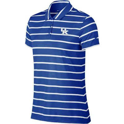 Kentucky Nike Golf Women's Dry Stripe Polo