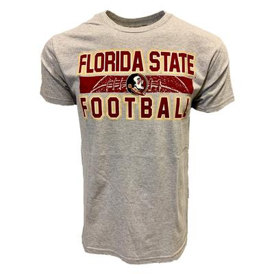 Florida State Stacked Laces Football Tee