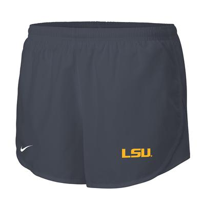 LSU Nike Women's Dri-FIT Tempo Shorts ANTHRACITE