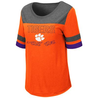 Clemson Women's Colosseum Relaxed Fit Tee