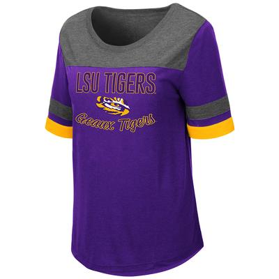 LSU Women's Colosseum Relaxed Fit Tee