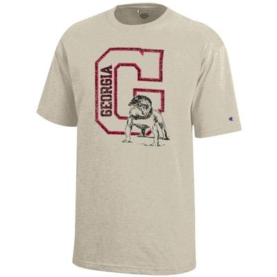 Georgia Youth G w/ Standing Bulldog Tee