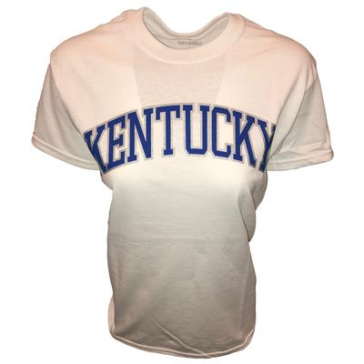 Kentucky Women's Lined Arch Tee WHITE