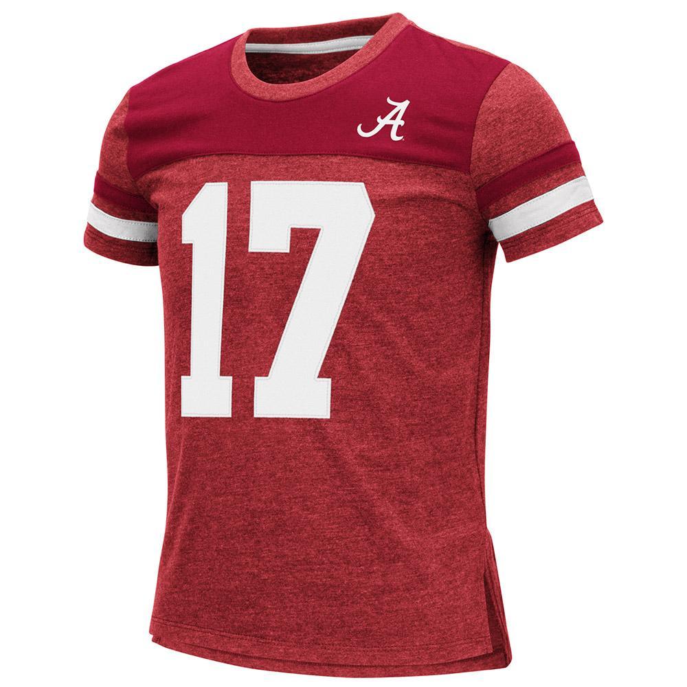 Alabama Youth Colosseum Football Stripe Tee