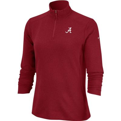 Alabama Nike Golf Women's 1/4 Zip Golf Pullover