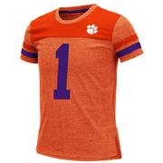 Clemson Youth Colosseum Football Stripe Tee