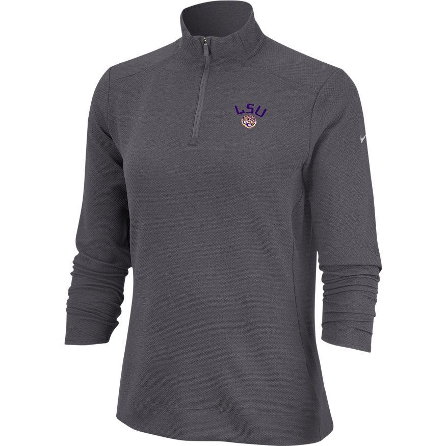 Lsu Nike Golf Women's 1/4 Zip Golf Pullover