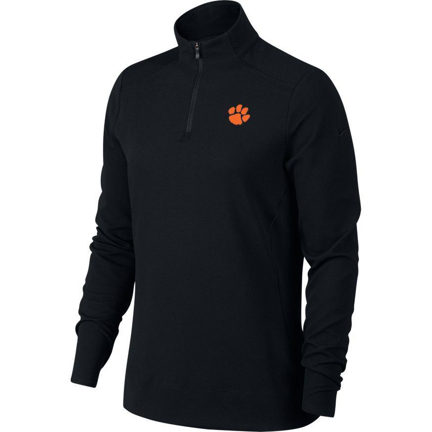 Clemson Nike Golf Women's 1/4 Zip Golf Pullover