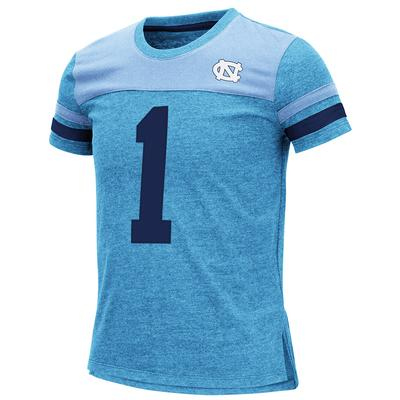 UNC Youth Colosseum Football Stripe Tee