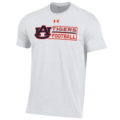 Auburn Under Armour Football Performance Cotton Tee