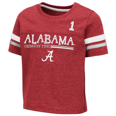 Alabama Toddler Colosseum Football Stripe Tee