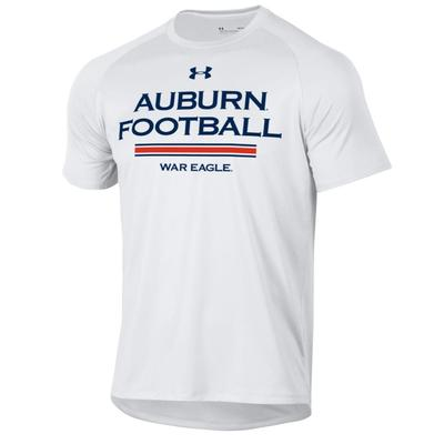 Auburn Under Armour Football Tech Tee Shirt