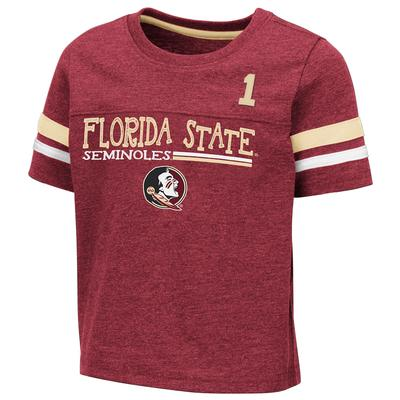 Florida State Toddler Colosseum Football Stripe Tee
