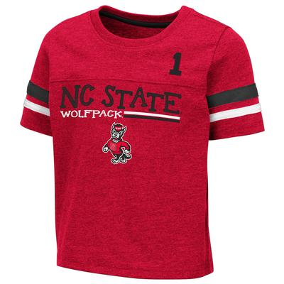 NC State Toddler Colosseum Football Stripe Tee