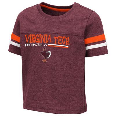Virginia Tech Toddler Colosseum Football Stripe Tee
