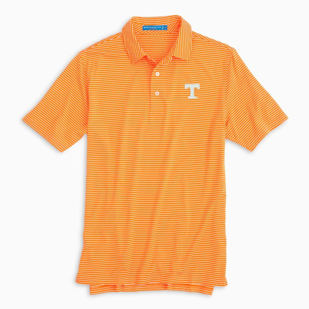 Tennessee Southern Tide Gameday Striped Polo
