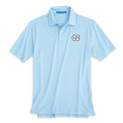 UNC Southern Tide Gameday Striped Polo
